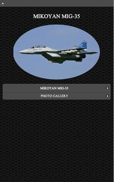 MiG-35 Russian Fighter FREE poster