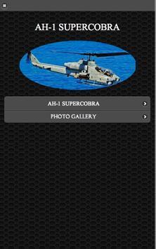 AH -1 Super Cobra Helicopter poster