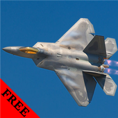 F-22 Stealth Fighter FREE icon