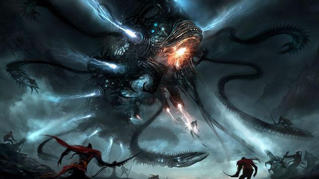 Alien War HD Live Wallpaper Poster