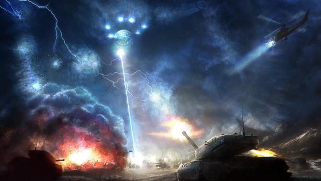 Alien War HD Live Wallpaper Apk Screenshot