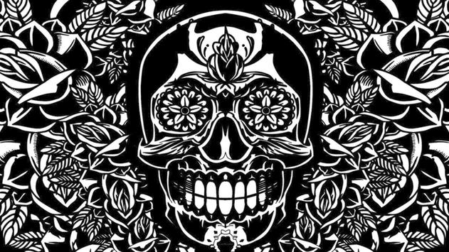 Mexican Skull Live Wallpaper Poster