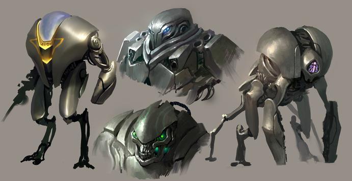 Robot Pack 2 Live Wallpaper screenshot 3