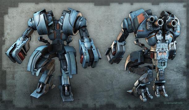 Robot Pack 2 Live Wallpaper screenshot 1