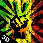 Reggae Peace 3D Live Wallpaper icon