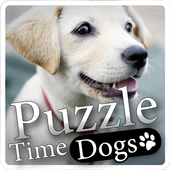 """Puzzle Time """"Dogs"""" icon"""
