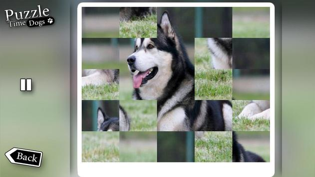 """Puzzle Time """"Dogs"""" poster"""