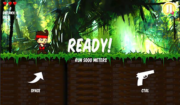 Hero Jungle Run apk screenshot
