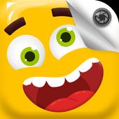 Funny Face Sticker Photo Editor icon