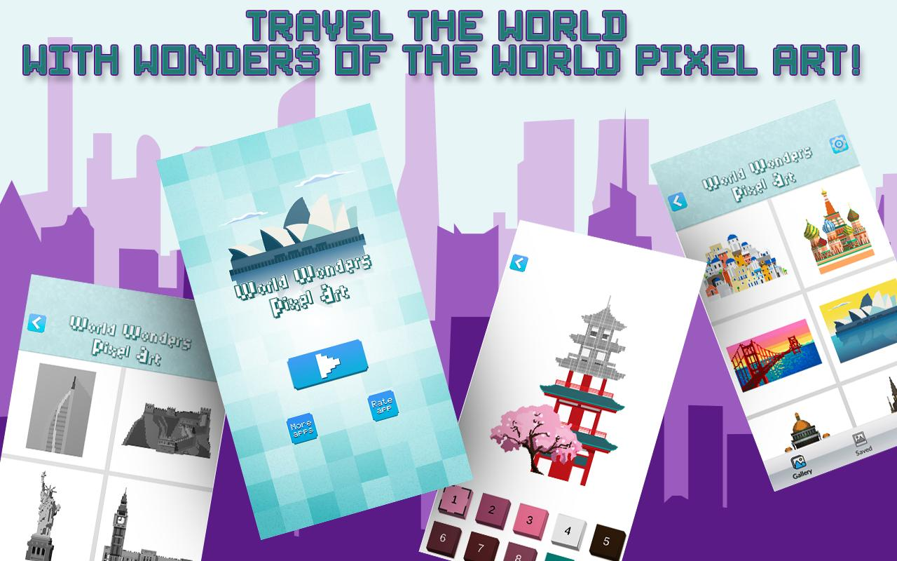 Wonders Of The World – Color By Number for Android - APK Download