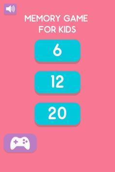 Memory Game For Kids screenshot 2