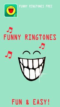 Funny Ringtones Free poster
