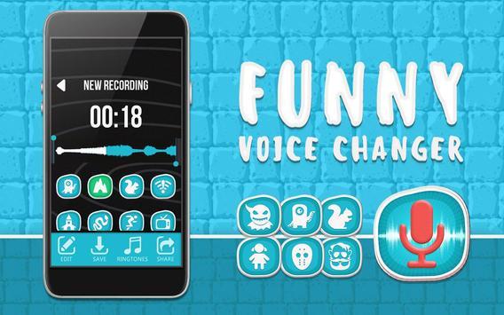 Funny Voice Changer Editor apk screenshot