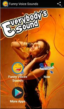 Funny Voices Sounds poster