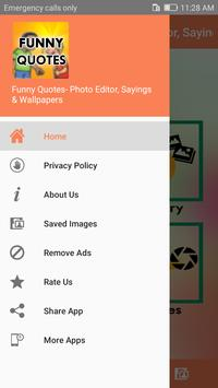 Funny Quotes on Photos apk screenshot