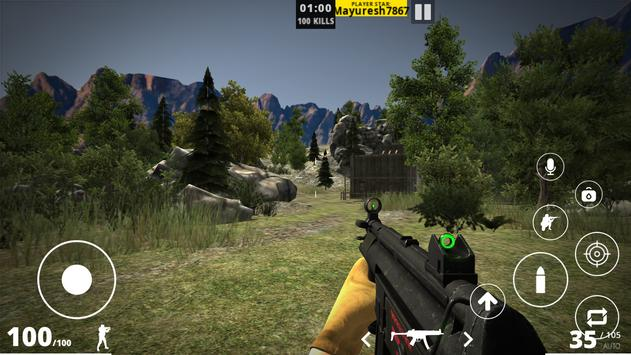 First Blood - Multiplayer FPS Game Android screenshot 4