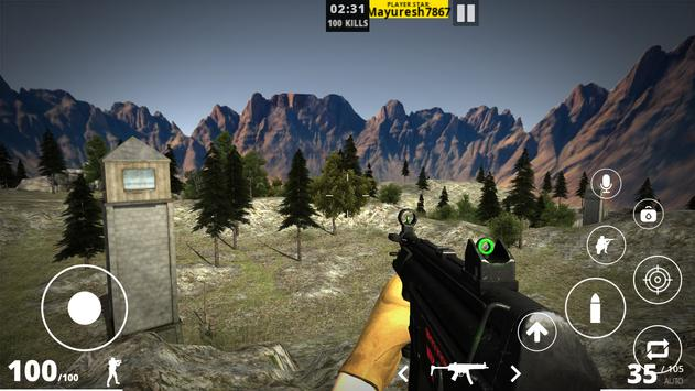 First Blood - Multiplayer FPS Game Android screenshot 1