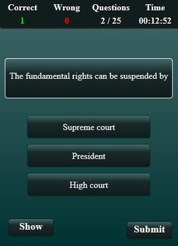 Fundamental Rights and Duties Quiz screenshot 8