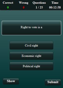 Fundamental Rights and Duties Quiz screenshot 13