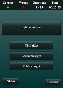 Fundamental Rights Quiz screenshot 13