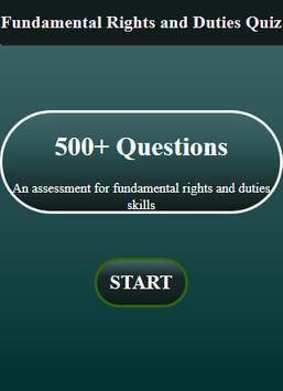 Fundamental Rights and Duties Quiz screenshot 1