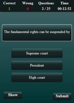 Fundamental Rights Quiz screenshot 3