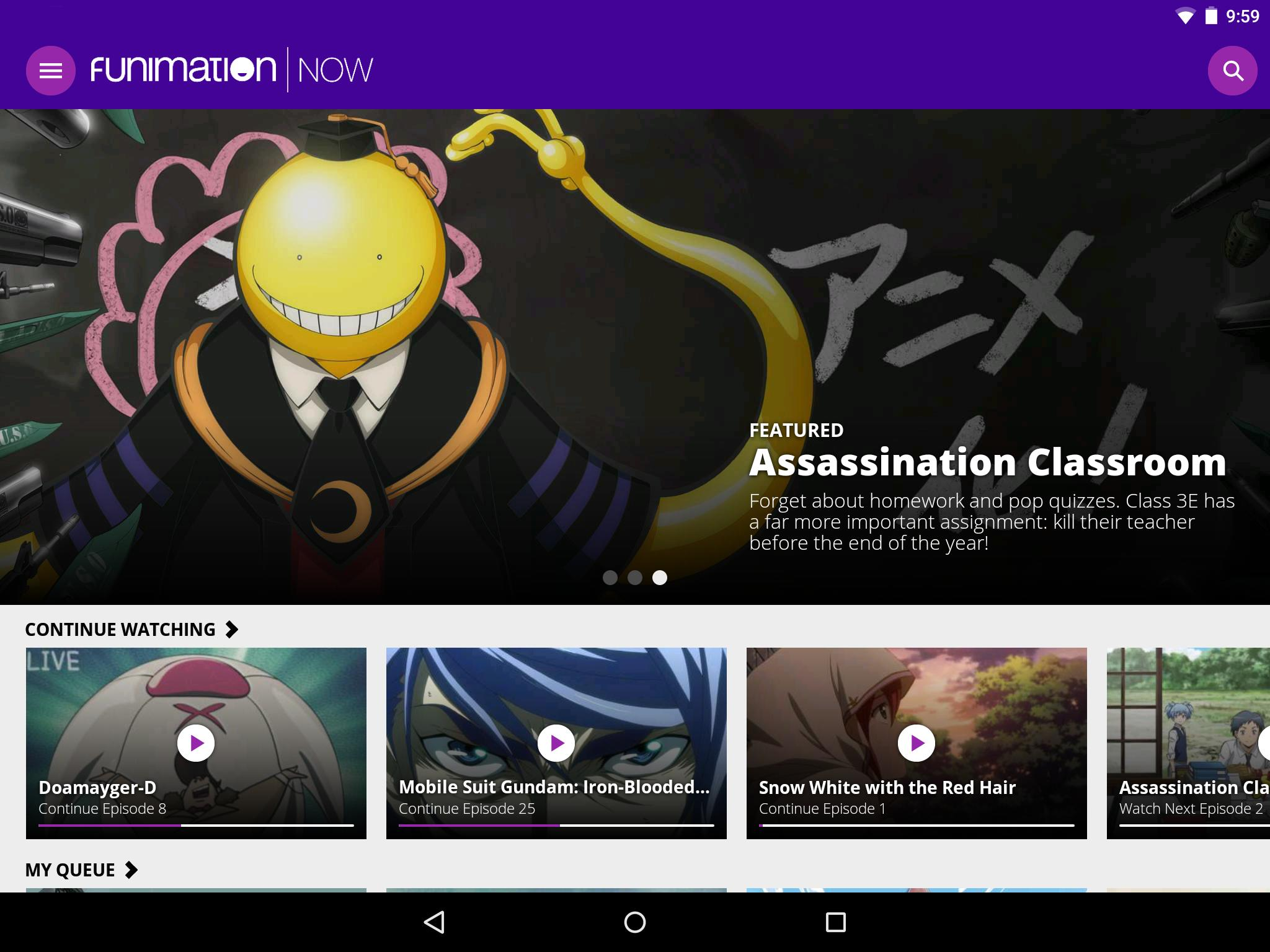 FunimationNow - UK for Android - APK Download