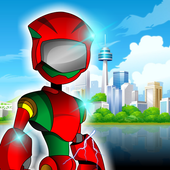 Robot Red Green icon