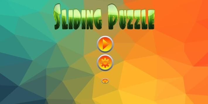 Sliding Puzzle - For Kids poster