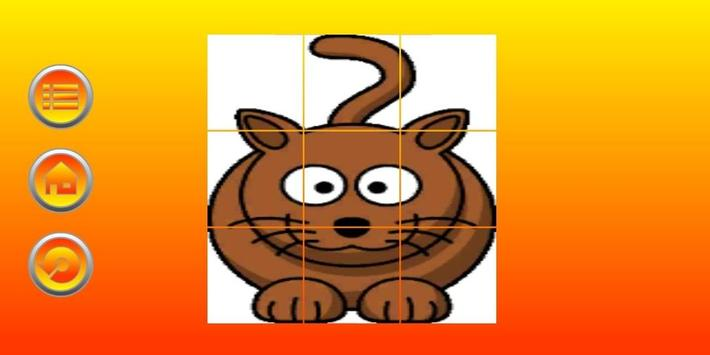 Sliding Puzzle - For Kids apk screenshot