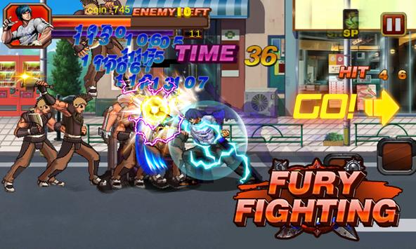 Karate Fighter Fury Fight poster