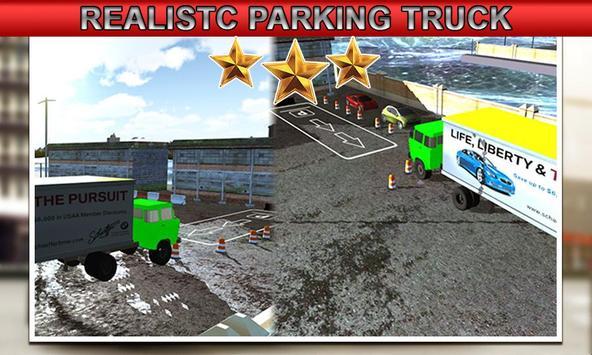 USA Truck Parking 2017 poster