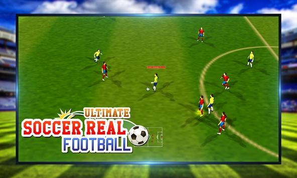 Ultimate Soccer Real Football screenshot 1