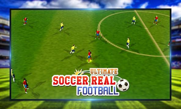 Ultimate Soccer Real Football screenshot 3