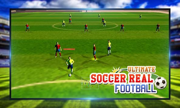 Ultimate Soccer Real Football screenshot 7