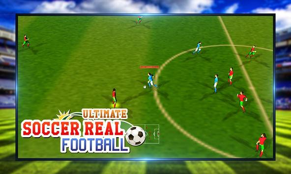 Ultimate Soccer Real Football screenshot 9