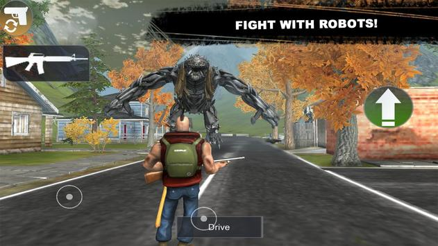 Futuristic Robot Survival スクリーンショット 3