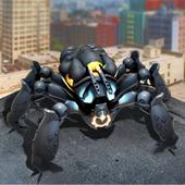 Futuristic Robot Spider Hero icon