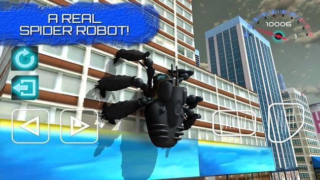 Futuristic Robot Spider Hero apk screenshot