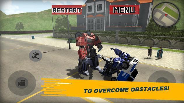 Futuristic Police Robot City 3D screenshot 4
