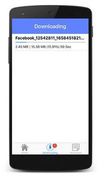 freе Facebook Downloader Video - FB Video Download screenshot 1