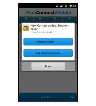 FranConnectMobile apk screenshot