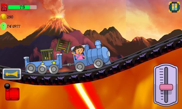 Little Dora Kids Train - Magical Forest Explorer screenshot 4