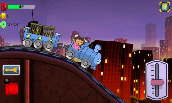 Little Dora Kids Train - Magical Forest Explorer screenshot 5