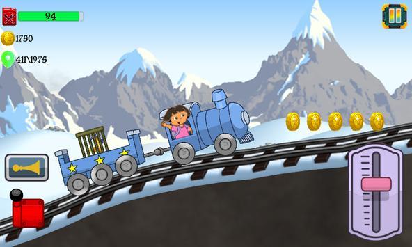 Little Dora Kids Train - Magical Forest Explorer screenshot 7