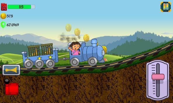 Little Dora Kids Train - Magical Forest Explorer screenshot 1