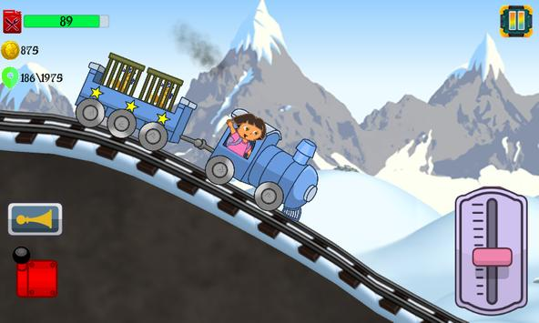 Little Dora Kids Train - Magical Forest Explorer screenshot 2