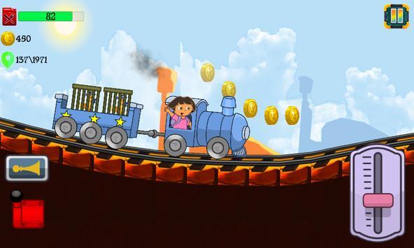 Little Dora Kids Train - Magical Forest Explorer screenshot 3