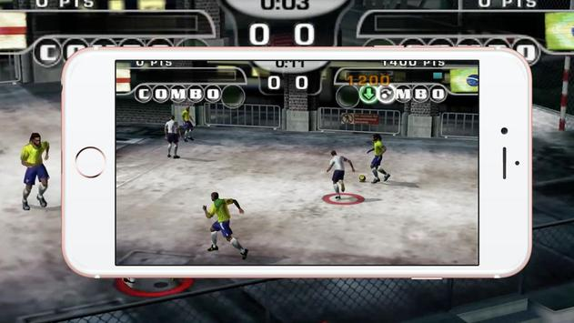 Free Fifa Street 2 apk imagem de tela