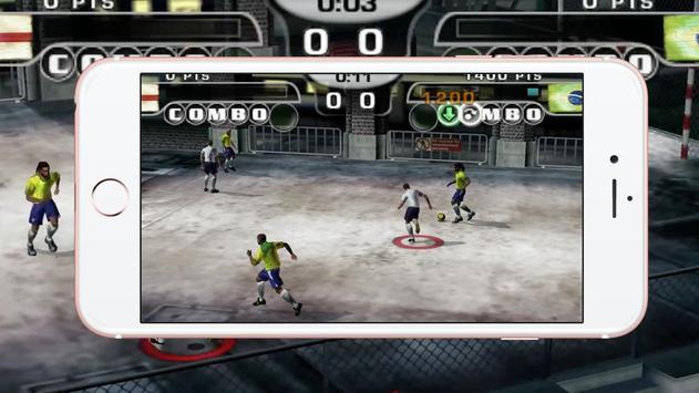 Free Fifa Street 2 скриншот приложения